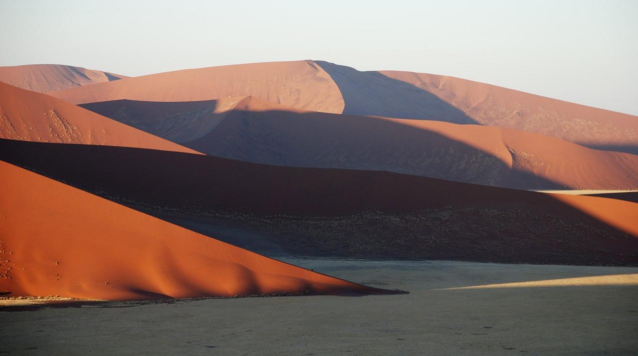 Toplage in der Nähe der Dünen von Sossusvlei