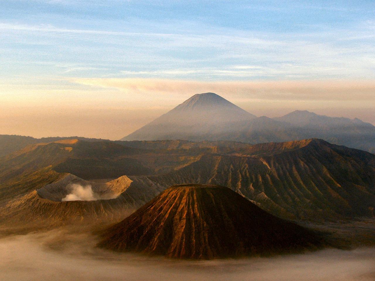 Einfach nur atemberaubend: Die Aussicht auf den Vulkan Bromo auf Java